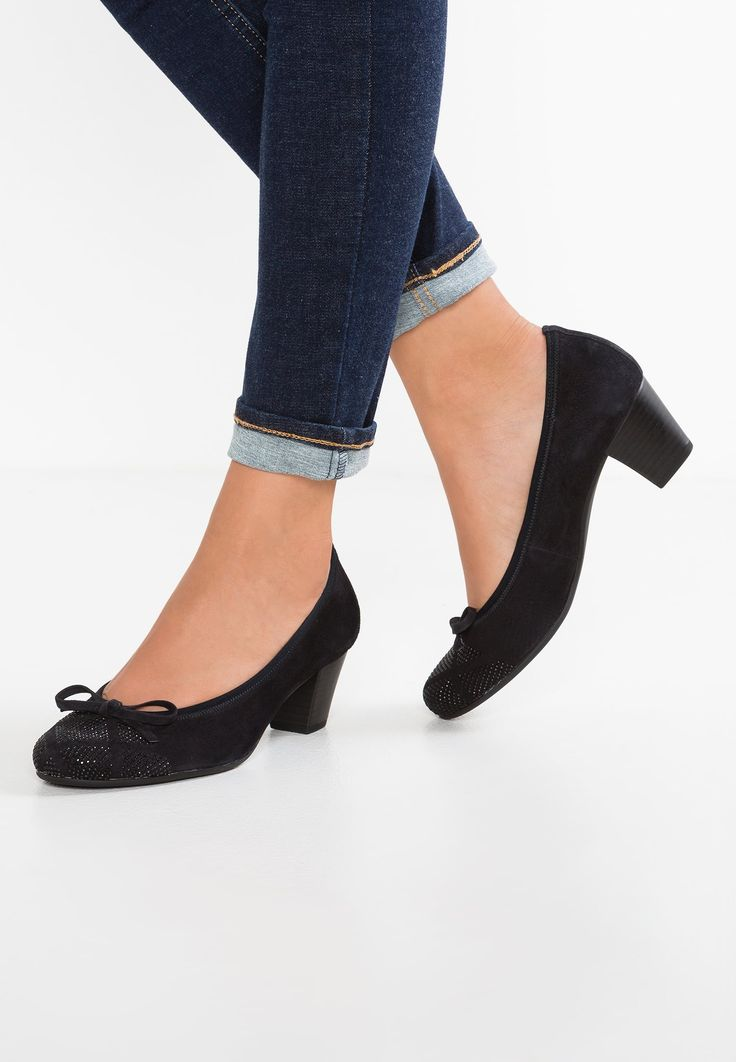 Chaussures Gabor Escarpins - pazifik bleu foncé: 110,00 € chez Zalando (au 20/07/17). Livraison et retours gratuits et service client gratuit au 0800 915 207.