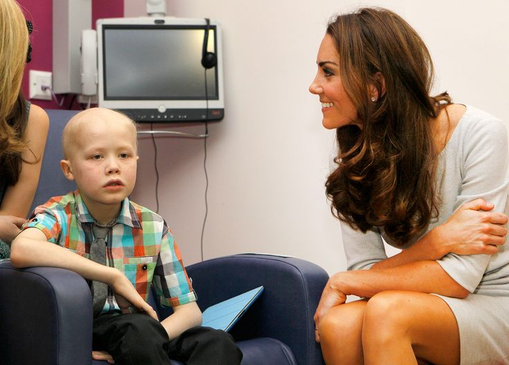 Young cancer victim laid to rest with touching note from Duchess Kate