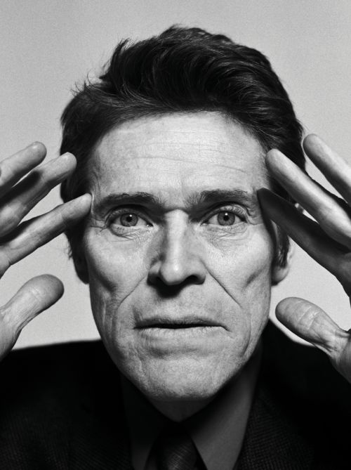 WILLEM DAFOE  PHOTOGRAPHY BY JAKE CHESSUMASSISTED BY DAVID ROSENZWEIG & DOMINIC NEITZSTYLING BY MARK HOLMESGROOMING BY AMY KOMOROWSKI AT CELESTINE AGENCY  PHOTOGRAPHED AT SUN STUDIOS, NEW YORK CITY  —-  WES ANDERSON—There's a very dance-like aspect to this work [plays] that is often the opposite of movies, which are generally about naturalism. You've always had this other part of your acting life – a whole range of experiences – that allows you to use all your musc