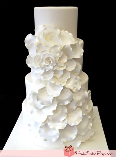 Classic Rose Wedding Cake inspired by the talented Melody Brandon from my Sweet & Saucy.