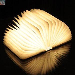 Flott boklampe  - smart til reisen