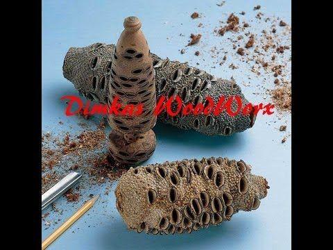 ▶ Cast your own Banksia Pod Pen blanks - YouTube
