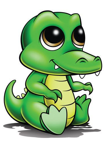 Alligator - Zootoos Temporary Tattoo