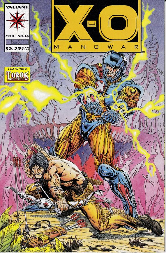 X-O Manowar 14  March 1993 Issue  Valiant Comics  by ViewObscura