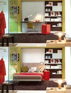 Murphy bed --> desk/office
