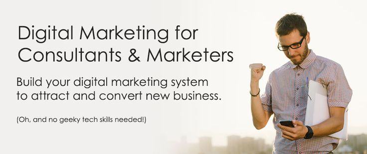 Digital Marketing Consultant for Helping Online Business -Career - marketing consultant job description