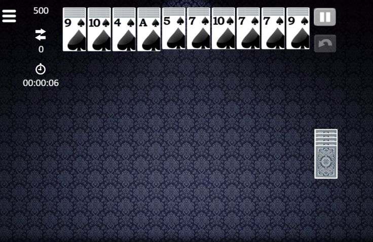 How to play Spider Solitaire classic