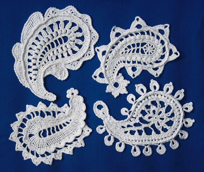Paisley magic- crochet pattern - allescaro - Crochet Tutorials