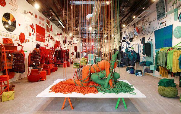 Lana Sutra collection by Erik Ravelo for Benetton