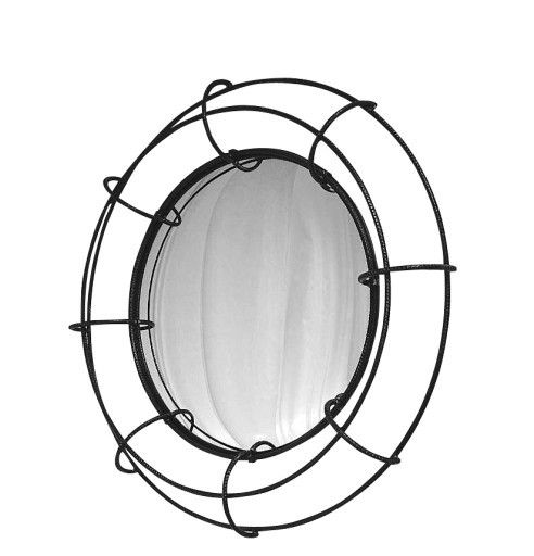 Concentric Mirror by Powell & Bonnell  Available at Dennis Miller Associates #Design #mirror #reflect #reflection #decor #home #interior #interiordesign