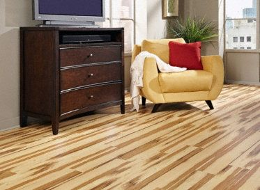 5mm Magnolia Springs Hickory Click Resilient Vinyl For