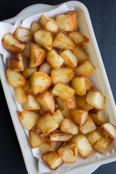 Roasted Duck Fat Potatoes | The Domestic Man | Whole30