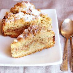 Torta sbriciolata con amaretti e ricotta