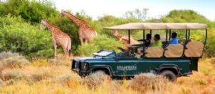 Kids on Safari at Shamwari Game Reserve, Eastern Cape, South Africa