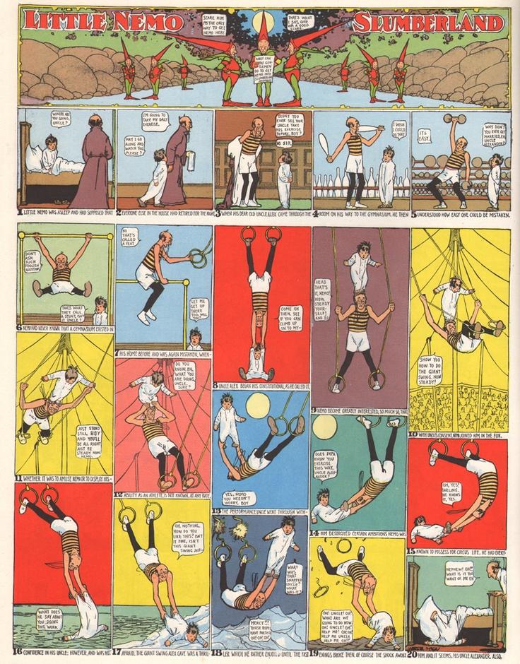 AMAZING COSMIC POWERS!!!!!!: Winsor McCay Wednesday: February 4th 1906