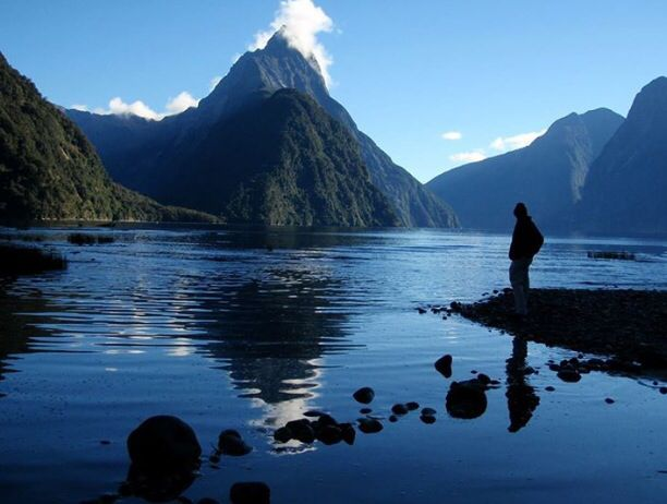 Pure serenity at Milford Sound