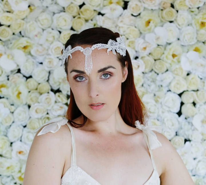 Holly Young Millinery Heavenly Bridal Hair Chain 'Nevek'