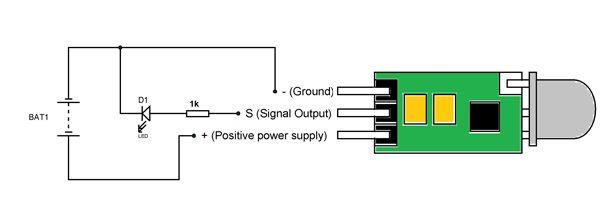 Hc Sr505 Circuit Diagram Circuit Electronics Circuit Simple Circuit