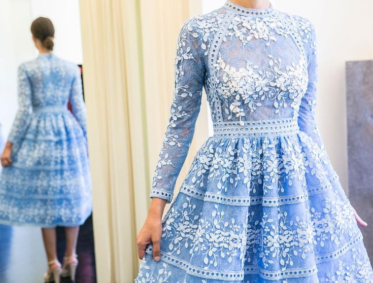 Inception!  #costarellos #ss18 #lightblue #rtw #embroidered #showroom