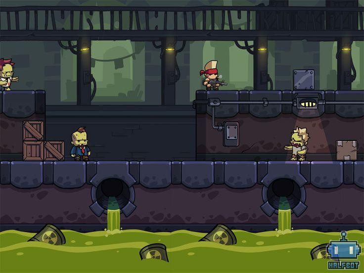 New Halfbot game Mockup by DerekLaufman.deviantart.com on @deviantART