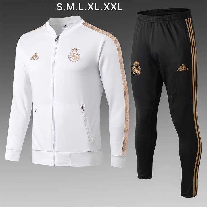 chocar Ernest Shackleton manejo  Real Madrid C.F. Football club adidas 2019-20 Replica TRAINING Futebol –  www.worldsoccerfootballshop.com | Tracksuit, Swag outfits men, Real madrid  jacket