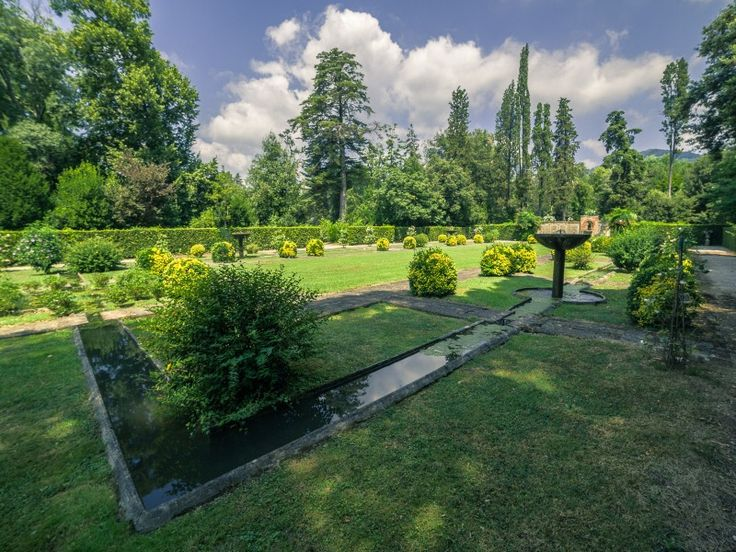 Giardino spagnolo Villa reale marlia