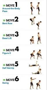kettleball a great work out, just 20 minutes a day