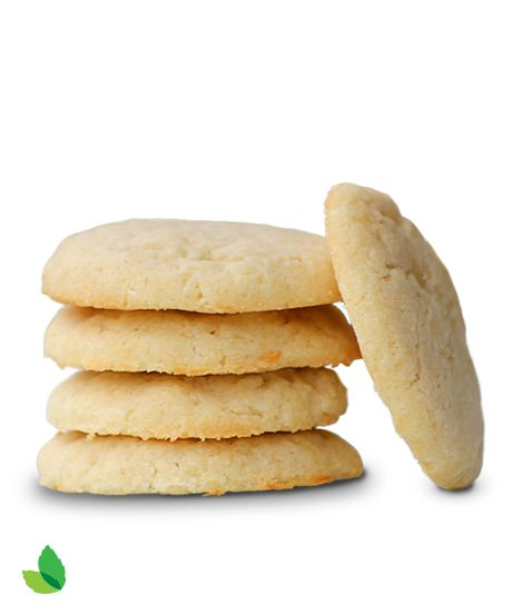 Shortbread Cookies with Truvía® Natural Sweetener This is a reduced sugar recipe. 3 g of sugar per cookie