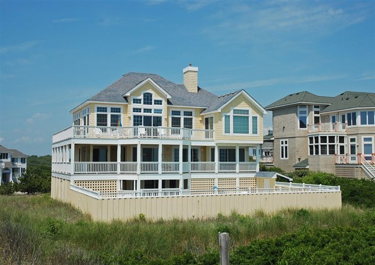 Twiddy Outer Banks Vacation Home Morning Glory I Corolla Oceanfront 5 Bedrooms Retreat