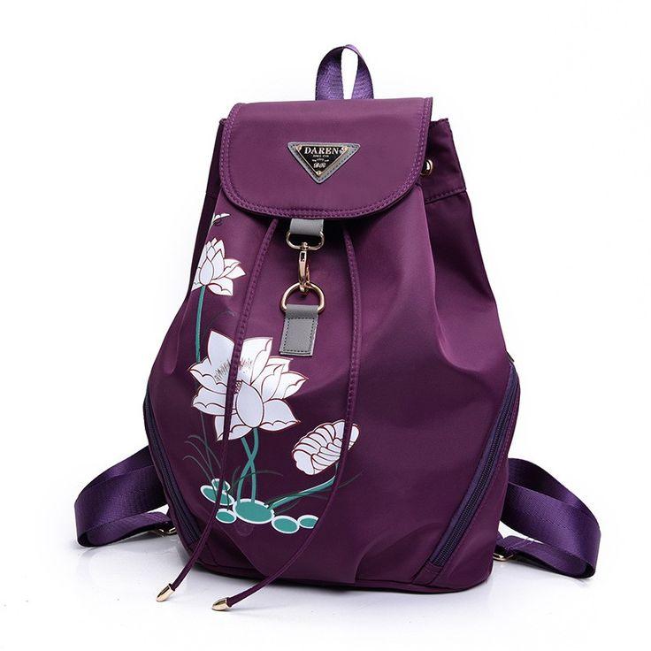 Cheap school bags, Buy Quality school bags design directly from China mochilas infantis Suppliers: 2017 Limited Mochilas Infantis Mochila Escolar School Bag The New Design Of Lotus Backpack Waterproof Nylon Bag Feminina Bolsas