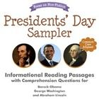 LIMITED+EDITION+FREEBIE!+Available+only+until+President's+Day,+Feb.+17th.  This+Presidents'+Day+sampler+pack+includes+three+reading+passages+with+c...