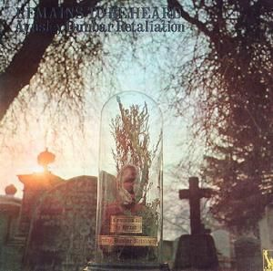 The Aynsley Dunbar Retaliation - Remains to be Heard (Liberty, 1970).  Cover by Hipgnosis.