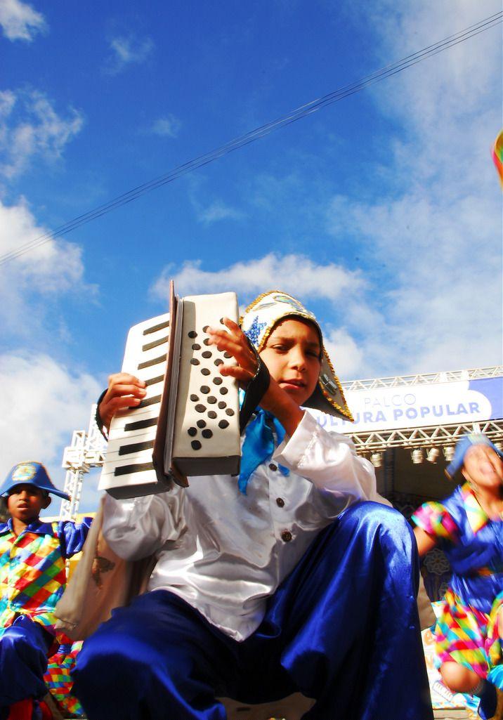Apresentação de Quadrilha no Festival de Inverno de Garanhuns - Pernambuco, BRASIL