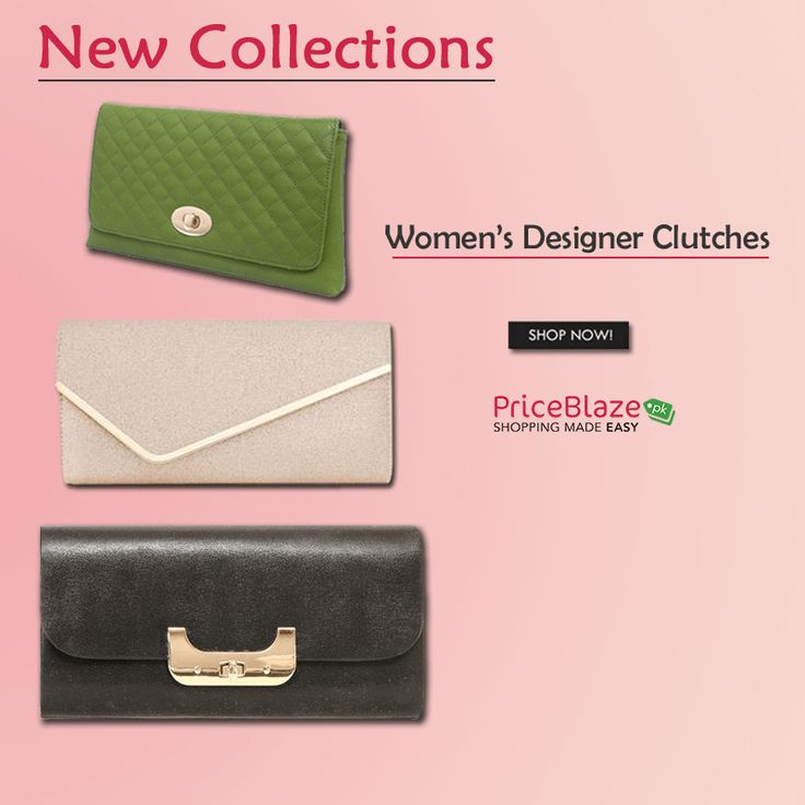 A wide range of ladies 'clutches & wallets' are now available on #Priceblazepk! view: http://ow.ly/fwm130hHWcj #onlineshopping #clutch #wallets #handbags #bag #watches #cosmetics #makeup #womensaccessories #purse #perfume #sunglasses #fashion #fashionblogger #outfit