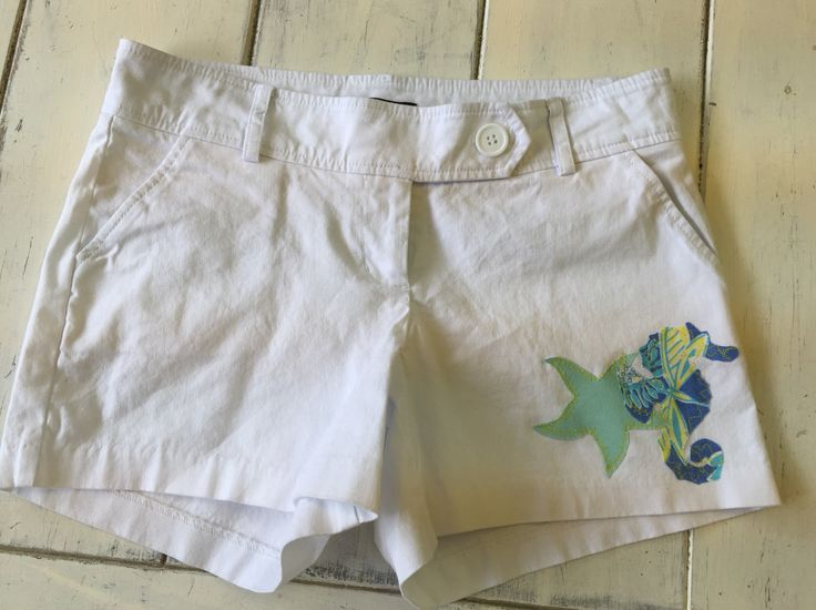 Summer fun! Recycled Lilly Appliqué