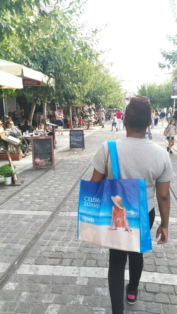 Walking around Plaka district #Athens #Greece #2016vacay