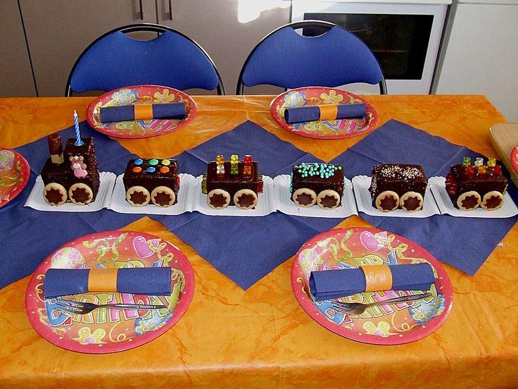 Schneller Zug - Kuchen 7