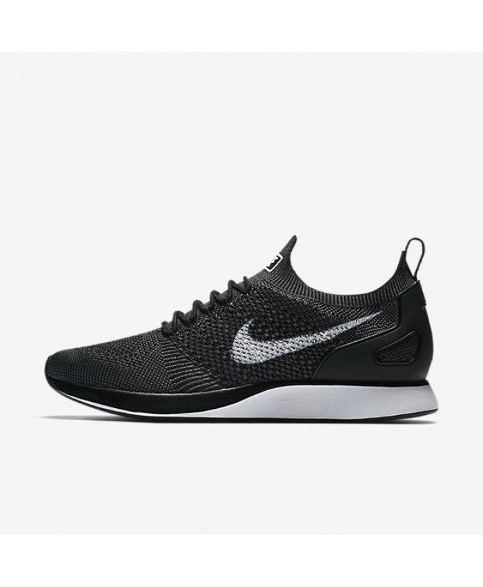 22d991d0d70a Nike Air Zoom Mariah Flyknit Racer Black Dark Grey White 918264-001 ...