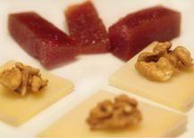 Prueba este postre en el hotel: queso con membrillo y nueces #HotelWanderlust #pamplona #eat #lunch #producto