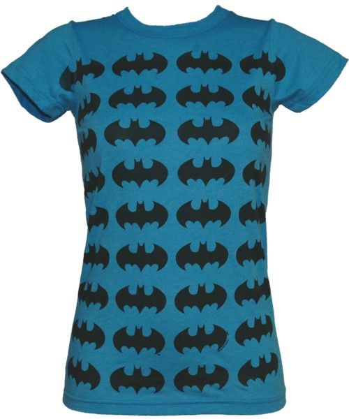 Junk Food Blue Batman Repeat Print Ladies T-Shirt from Junk Food Luella Bartley ker-powed the fashion crowd with her Batman motif shirts on the catwalk this season but we think Junk Foods version is even better - and more wallet friendly too! http://www.comparestoreprices.co.uk//junk-food-blue-batman-repeat-print-ladies-t-shirt-from-junk-food.asp