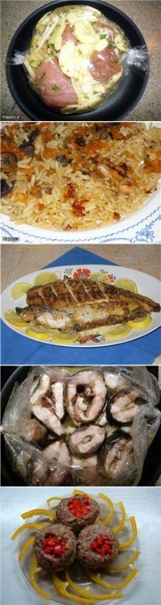 Готовим вторые блюда в рукаве : Вторые блюда