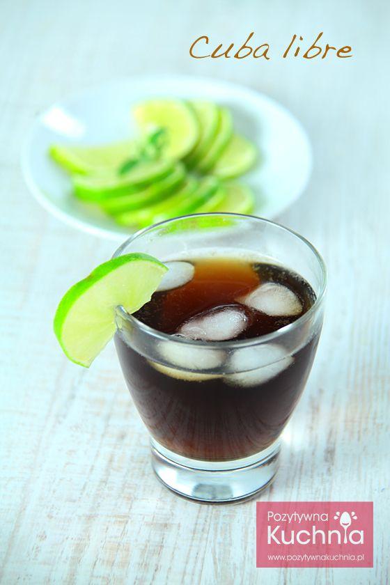 #drink #cuba libre czyli #rum z colą  http://pozytywnakuchnia.pl/cuba-libre-rum-z-cola/  #przepis #kuchnia