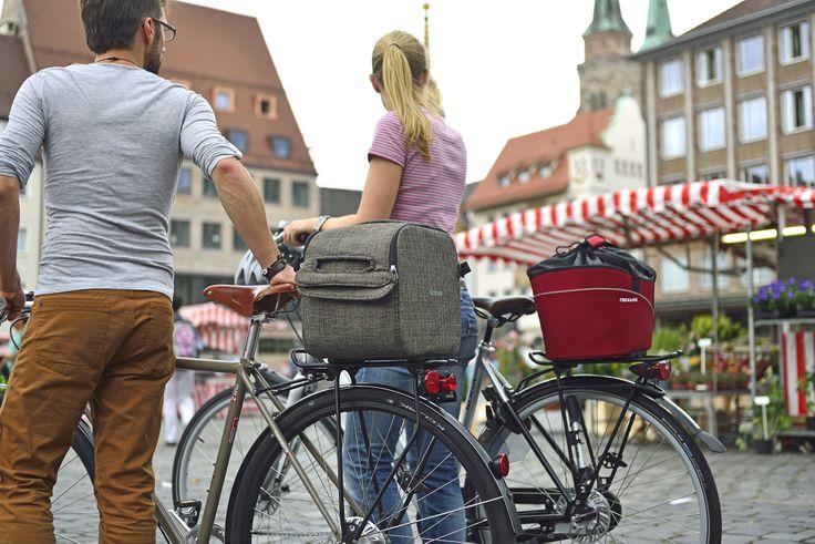 Bolsos Racktime para tu bicicleta. Qube-it y Shop-it.