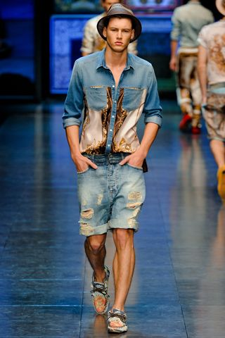 D & G Spring 2012  photo: http://www.style.com/