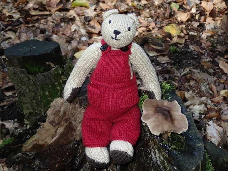 Christopher Teddy Bear - Sandra Polley's pattern