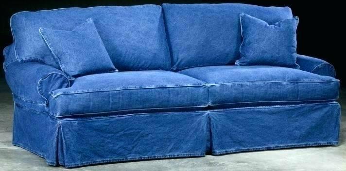 Denim Couch Cover 26 For Sofa Design, Denim Sofa Cover