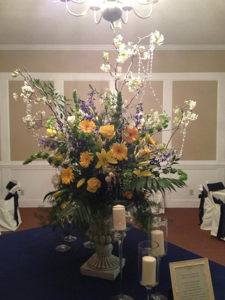 Food Table Centerpiece | wedding stuff | Pinterest