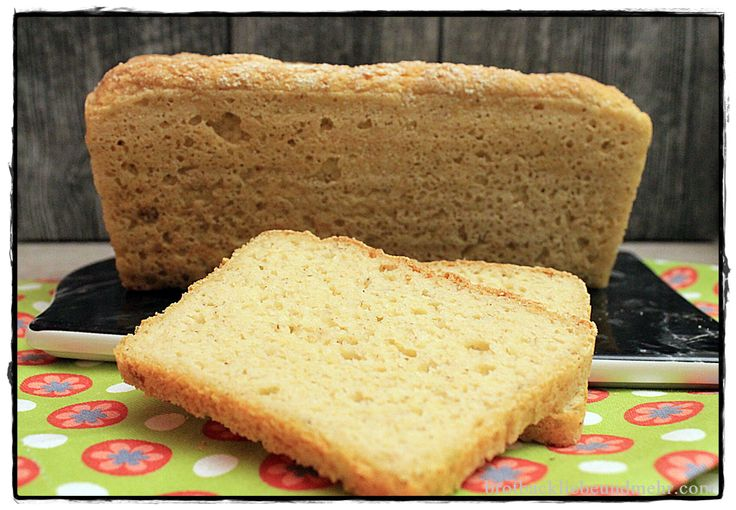Glutenfreier Buttertoast brotbackliebeundmehr  Foodblog