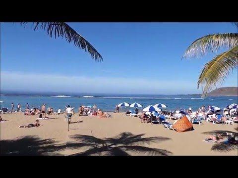 Temporada de Invierno y Música en Vivo Paseo de La Playa  Las Canteras