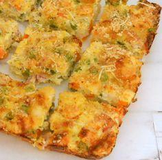 Torta salata alle verdure, senza sfoglia, facilissima da fare e non troppo calorica, può essere un secondo piatto o un finger food, come preferite.